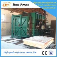 Fully automatic gas shuttle kiln for Refractory brick