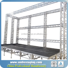 portable stage platform outdoor stage curtain stand with stage roof