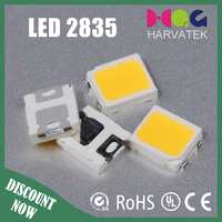 Hot selling light emitting diode 0.2w warm white 2835 smd led specification