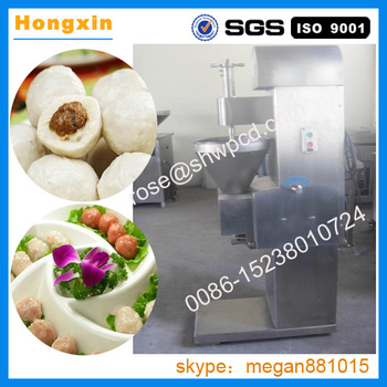 Hot sale fish ball making machine/bouncing ball machine meat fish ball rolling machine with best price