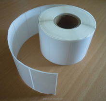 Thermal Plain Shelf Edge Labels 58mm x 38mm 600 labels 25m Core,with perforation