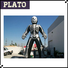 Halloween skeleton decor inflatable big skeleton model for sale