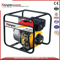Powerful 3.8HP-9HP portable diesel engine driven water pump with KP178F