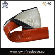 high temperature heat resistant sleeving with velcro