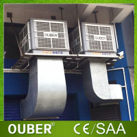 220V air vents evaporative cooling fan factory desert cooler industrial evaporative air cooler