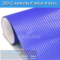 Quality Guaranteed 5 *98ft 3D Vinilo Carbono Car Truck Wrap Folie