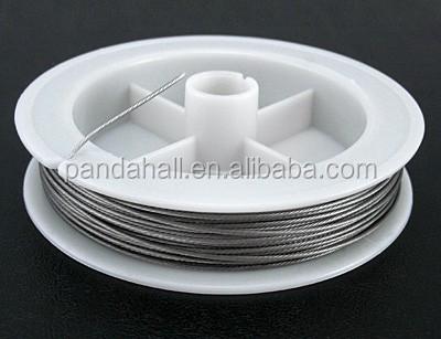1mm Light Grey Stringing Loose Wire Jewelry Materials Tiger Tail Wholesale