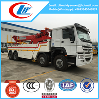 2016 new arrivel SINOTRUK 360 rotator recovery truck for sale