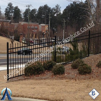 Ornamental Fence/ Galvanized Sheet Metal Fence Panel with Powder Coated