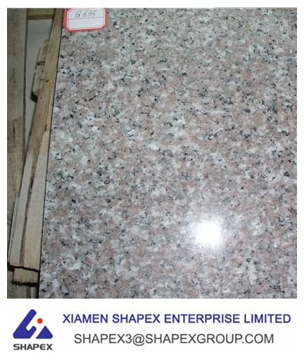 brand new g635 red granite, pink porrno granite export price