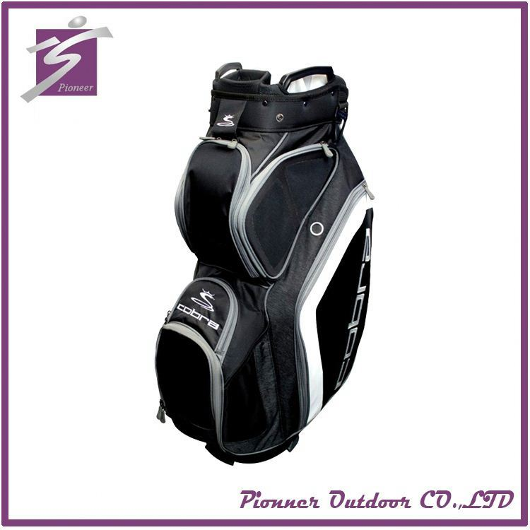 Cute popular Polyester golf bag travel cover with wheels