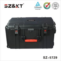 case type and abs material plastic military tool case