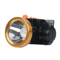 3W led lithium 18650 battery with aluminium head rechargeable headlight or head lamp