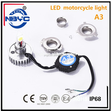 High Quality A3 Motorcycle LED Lighting Projector Headlights 12V C ree H4 H6 H7 Motorcycle light