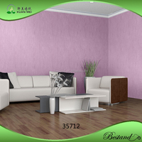 Model 35712 XuanMei High Quality Embossed PVC Wallpaper Paint Texture Wallpaper