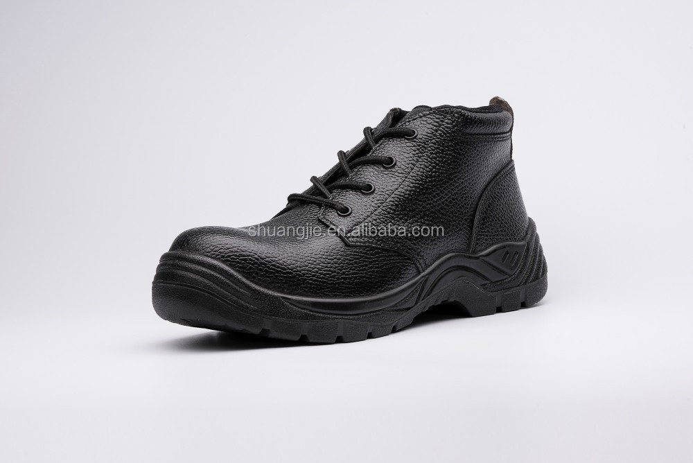 genuine leather working safety shoes worker shoes,NO.8066