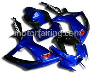 SUZUKI Bodywork Fairing For GSXR600-750 06-07 k6 Racing Fairing Body Kits Cover blue/black