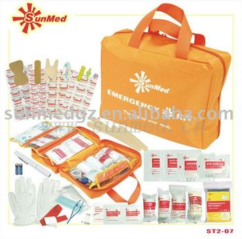 ST2-07 Family First Aid Kit,TRAVEL FRIST AID KIT,SURVIVAL FIRST AID KIT,HIKING FIRST AID KIT,HOME FIRST AID KIT