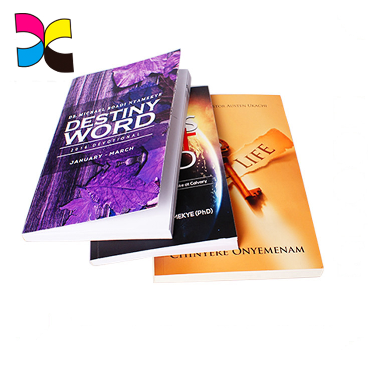 Softcover book offset printing full color book printing wholesale