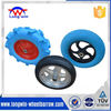 4.00-8 wheelbarrow rubber PU foam wheel