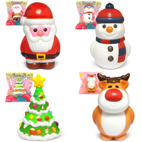 Novelty Cute Toys Squishy Christmas Surprise Squish Antistress Funny Gifts Stress Relief Toy For Children Fun Gadget Joke