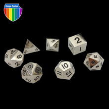 2017 Modern High end souvenir metal special adult dice games