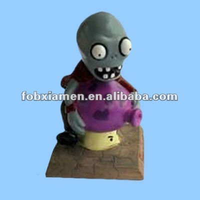 Adorable Plants Vs Zombies Cute Resin Zombie Figurine