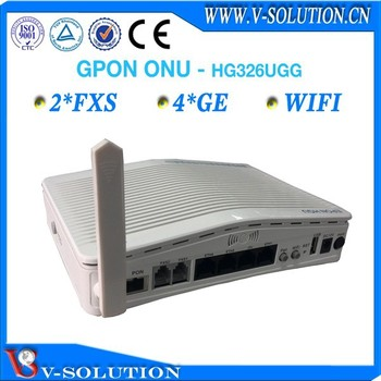 V-solution fiber optical network 2FXS 4GE wifi ftth gpon ont