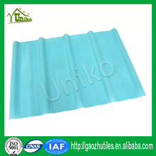 excellent weather resistant property Excellent impact resistance solar panel roofing sheets FRP flat sheet