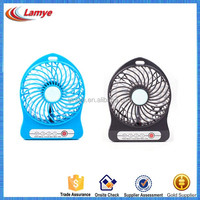 custom printed mini folding electric hand fan with usb cable