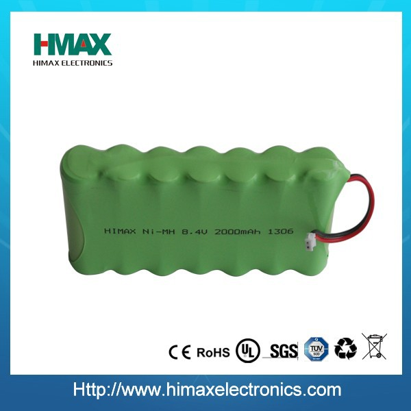 ni-mh 12v aa 1800mah rechargeable battery pack for emergency lighting