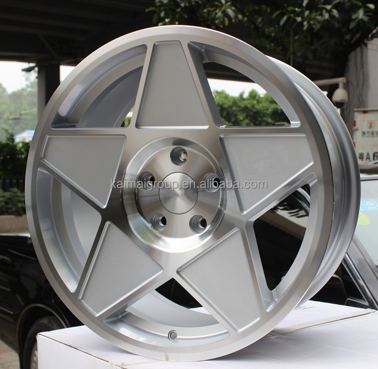 17x8.0 jj replica car Alloy Wheel Rim | 4 holes 5 holes 8 holes car wheel hub | car alloy wheel