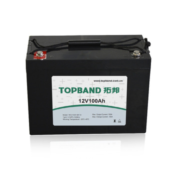 TOPBAND BATTERY Large storage LiFeO4 LFP battery 12V 100Ah