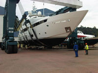 FRP Composite Speed Boats