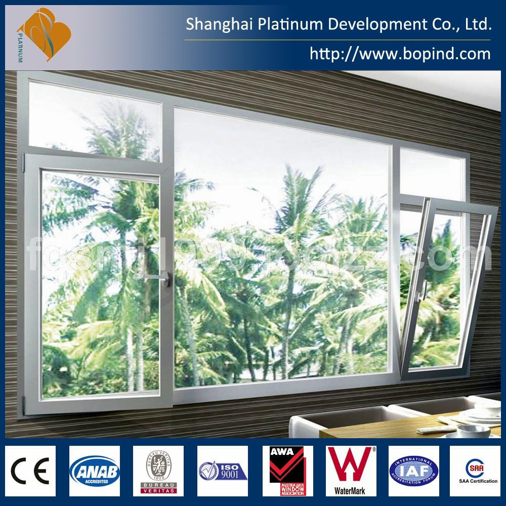 Aluminium alloy sliding window