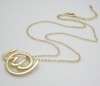 Allah Round shape Necklace - Islamic design
