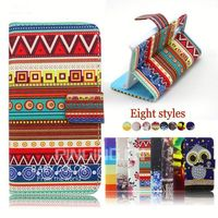 factory price flip leather case cover for lenovo a516