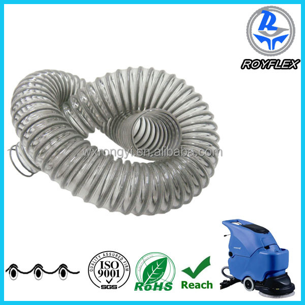 flexible corrugated pipe wire hose used for car wash machines
