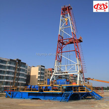 ZJ50/3150 1500HP Skid Mounted Oil Drilling Rig Deep Well Drilling Machine