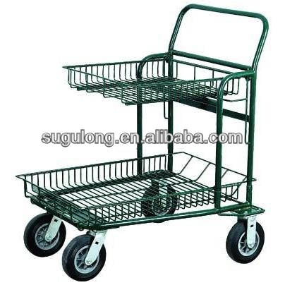 supermarket cargo trolley & cart