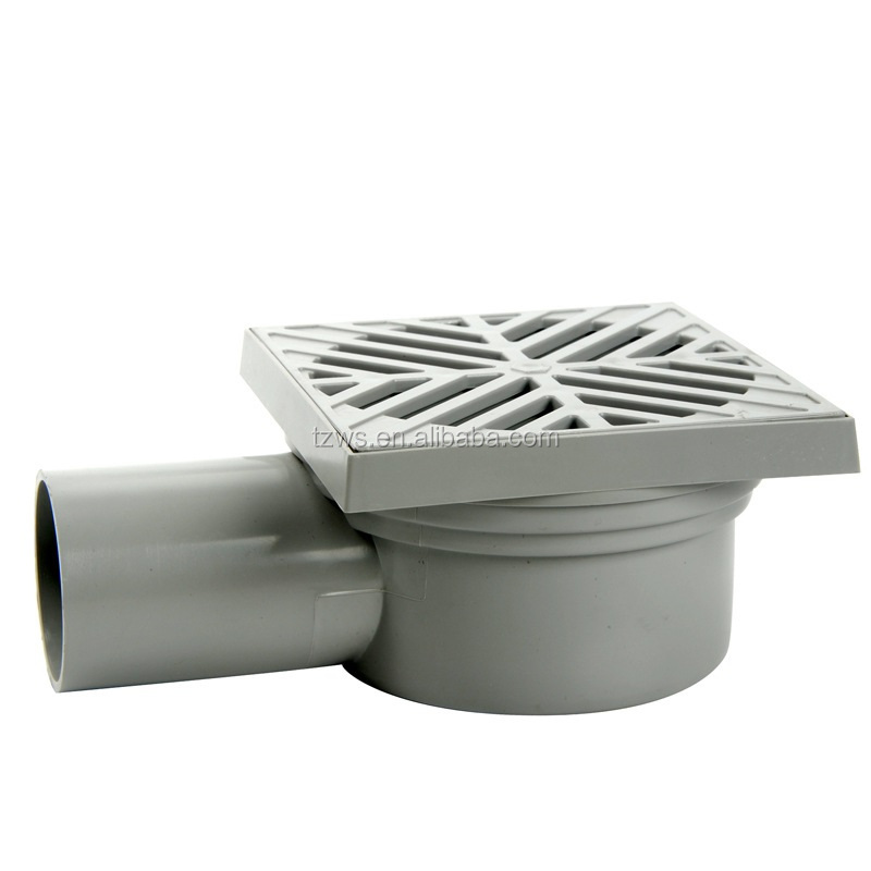 ''HJ'' Brand pvc floor drain with handle for 1-1/2 inch