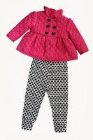 children pants and tops girls sets