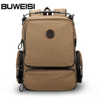 Handiness Canvas Satchel Handbag Teens Boys School Bags Backpack