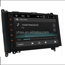 Touch screen for Meredes-Benz B200 Android car dvd players with GPS autoradio navigation system 2 din double multimedia