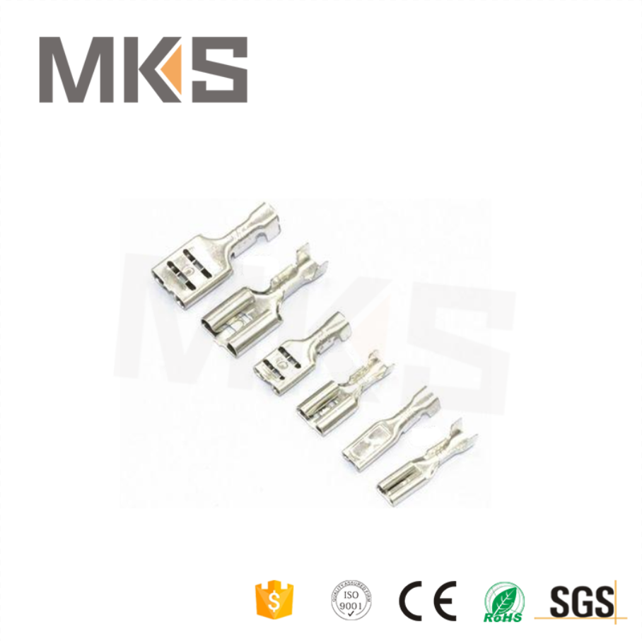 Wholesale Electrical flag type Brass faston Terminal Connector