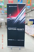 pull up banner, expo displays 100 % polyester from factory