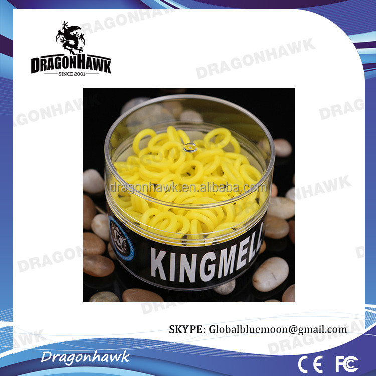 Yellow Color Silicone <strong>Rubber</strong> O Rings For Tattoo Machine