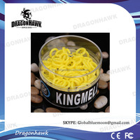 Yellow Color Silicone Rubber O Rings For Tattoo Machine