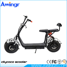 2017 High quality crazy sell 2 person electric scooter 1000w citycoco double seat big wheel