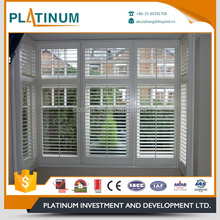 Special customized gloriours design aluminum louver window moveable